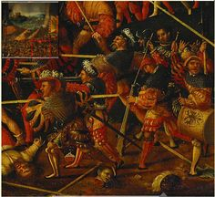 1530 German School - Battle of Pavia (DETAIL) Source - The Royal Collection