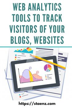 See how you can use Web Analytics Tools to Track Visitors of your blogs, websites. Visit the website to learn more. . #Tools #Automations #Analytics #Google #GoogleAnalytics #DigitalMarketing #StaenzAcademy Online Marketing, Digital Marketing, Web Analytics Tools, Set Up Google Analytics, Seo Guide, Social Media Channels, Competitor Analysis, Things To Think About, Website