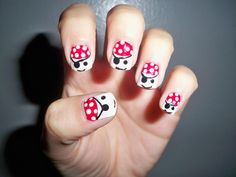 DIY Halloween Nails : Halloween Nail Art Pirates
