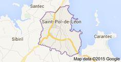 Map of saint pol de leon