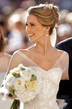 El blog de Paz Ortega: Peinados de novia 2013 (I). Recogidos altos