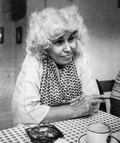 Nawal El Saadawi is an Egyptian feminist writer, activist, physician and psychiatrist. She has written many books on the subject of women in Islam, paying particular attention to the practice of female genital mutilation in her society.