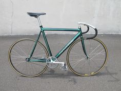 '94 Cannondale Track Green 55