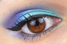 Sailor Neptun inspired makeup by http://www.sweetcherry.de/2016/04/blogparade-sailor-neptun.html