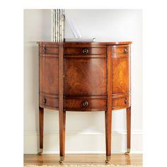Georgian Half Round Cabinet - Brown | Modern History MH196F01