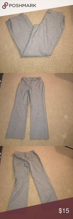 LOFT Julie Gray Dress Pants LOFT Julie Gray Dress Pants LOFT Pants Trousers