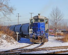 RailPictures.Net Photo: OSS 4297 OmniTRAX EMD GP9 at South Chicago, Illinois by Mike Mautner