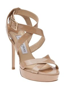 Vamp sandal