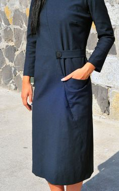 Asymmetriс V-neck Dress art. R012
