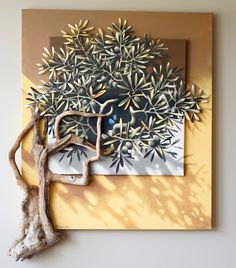 Small Olive Tree By Michalis Garoudis. HIs work is perfect for high end kitchen designs. Christmas Tree Forest, Christmas Tree Pattern, Fox Tattoos, Tree Tattoos, Deer Tattoo, Raven Tattoo, Tattoo Ink, Arm Tattoo, Sleeve Tattoos