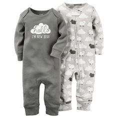 Carter's Baby Boys' or Baby Girls' Little Lamb Coveralls - Sets & Outfits - Kids & Baby - Macy's Baby Outfits, Kids Outfits, Niñas Carters Baby, Carters Baby Clothes, Baby Girls, Newborn Boys, Newborn Care, Everything Baby, Cute Baby Clothes