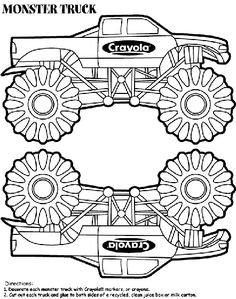 Monster Mutt Rottweiler Monster Truck Coloring Page | books worth ...