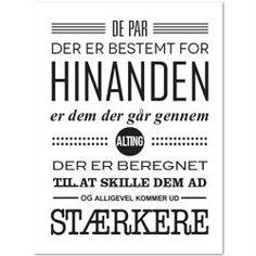 Plakat Stærke par - sort/hvid