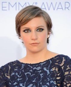 #pixie Glamorous Short Hair Seen on Lena Dunham