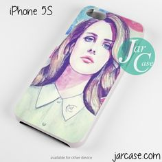 lana del rey painting art Phone case for iPhone 4/4s/5/5c/5s/6/6 plus