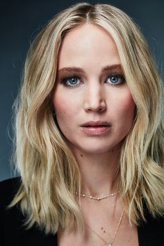 Jennifer Lawrence photographed for The New York Times. Jennifer Lawrence Photos, Jenifer Lawrence, Laurence, Pure Beauty, Celebs, Celebrities, Famous Girls, Hairdresser, Hair Inspiration