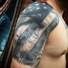 American Flag Half Sleeve Arm Tattoo Ideas - Best Sleeve Tattoos For Men: Cool S. - American Flag Half Sleeve Arm Tattoo Ideas – Best Sleeve Tattoos For Men: Cool Sleeve Tattoo Desi - Cover Up Tattoos, Half Sleeve Tattoos For Guys, Half Sleeve Tattoos Designs, Cool Tattoos For Guys, Full Sleeve Tattoos, Tattoo Designs Men, Man Sleeve Tattoo Ideas, Best Tattoos For Men, Upper Arm Tattoos For Guys