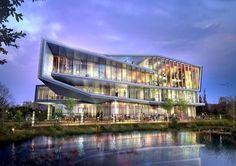 """Architect  Louie Kyunghoon Kim """"La-cubo, Retail"""", CG : perspecitve - Conecept Vol.138"""