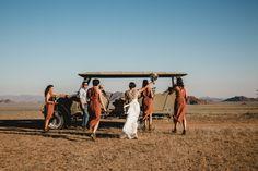 An adventurous safari destination wedding in the Namibian desert, , Africa Destinations, Amazing Destinations, Safari Wedding, Reception Entrance, Family Presents, Disney Wedding Dresses, Muslim Couples, Muslim Brides, Romantic Weddings