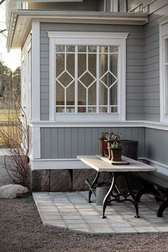 Best Home Exterior Garden Entrance 53 Ideas - Modern This Old House, Tiny House, Exterior Design, Interior And Exterior, Outdoor Spaces, Outdoor Living, Swedish Cottage, Garden Entrance, My Dream Home