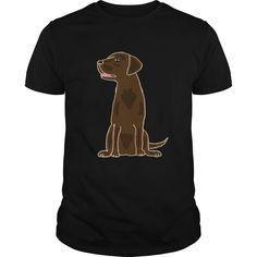 Cute Chocolate Labrador Retriever Tshirt - Christmas Dog Cute Labrador Retriever I Dog Lovers Only  #Labrador Retriever #Labrador Retrievershirts #iloveLabrador Retriever # tshirts