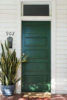Unique Exterior Garage Entry Door