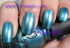 Scrangie: Swatches: China Glaze Romantique Spring 2009 Collection  ADORE