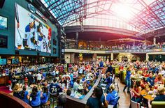 St. Louis Ballpark Village - Bars & Clubs - Watch your favorite sports at Ballpark Village, the premiere dining and entertainment district in the region