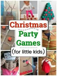 Christmas games for parties with little kids! These are such fun winter party game ideas ideal for preschool and older. Christmas games for parties with little kids! These are such fun winter party game ideas ideal for preschool and older. Preschool Christmas Games, Christmas Games For Kids, Christmas Party Themes, Toddler Christmas, Party Activities, Preschool Crafts, Preschool Activities, Party Games, Christmas Fun