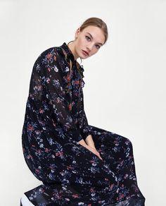 Obrázok 4 z DLHÉ ŠATY S VÝŠIVKOU od spoločnosti Zara