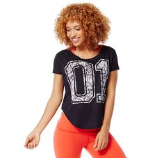 Show your pride in the Team Pride Tulip Top. Perfect for class with your favorite legging or with your favorite skinny jeans for a look says Team Zumba is in da house!