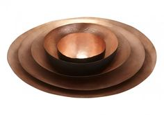 Form Bowl Tall Set Large Copper/ Gifts & Accessories by Tom Dixon Tom Dixon, Vases, Copper Gifts, Toms, Wooden Containers, Interior Design Process, Dinner Bowls, Black Exterior, Decoration
