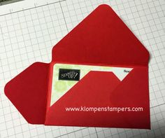 """It seems as though so many people love to buy and give gift cards this Christmas season…..For some people, it's just the best thing to give! (I am giving several of them myself!) So, instead of just giving a """"boring looking"""" gift, make a fun, fast and easy Gift Card Holder to put it in! …"""