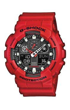 Casio Armbanduhr  GA-100B-4AER versandkostenfrei, 100 Tage Rückgabe, Tiefpreisgarantie, nur 99,90 EUR bei Uhren4You.de bestellen