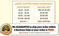 CheapCookieCutters has the Lowest Shipping Prices GUARANTEED