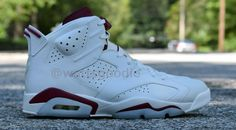 """The Jordan 6 """"Maroon"""" Will Arrive With Nike Air Branding During Holiday Season"""