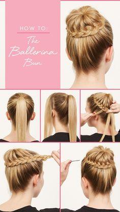How To: The Ballerina Bun