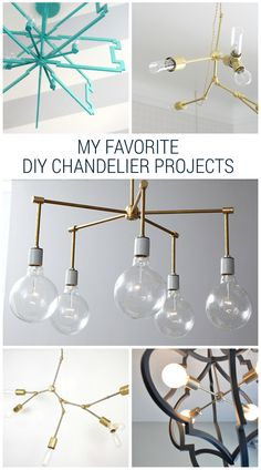 Favorite diy chandelier projects