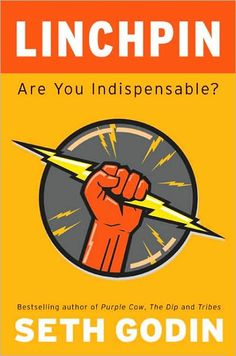 'Linchpin: Are You Indispensable. ' by Seth Godin.  I hadn't heard of Seth Godin until I came across this gem last yr while browsing at B & N. I began reading it and 3 hours and 2 doppio's later I realized I had almost finished most of the book! It's an amazing, inspirational, engaging motivational piece of literature. Thank you Seth Godin, Squidoo guru.
