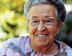 If there is anyone i look up to it is this woman, Corrie ten Boom.