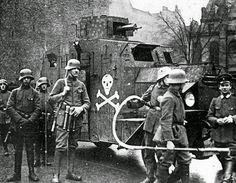 Post-war Freikorps troops