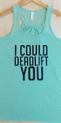 Conquer your workout with this tank!
