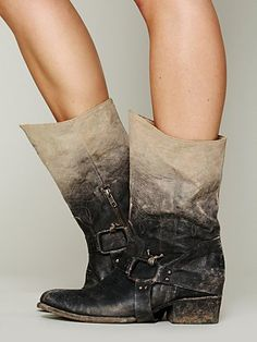 Free People Dipped Phoenix Boot.... I kind of want these for myself, But anyone have 400 dollars laying around?????