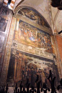 Frescoes Santa Anastasia, Fresco, Ap Spanish, Mural Painting, Painting Techniques, Verona, Mosaics, Street Art, Literature