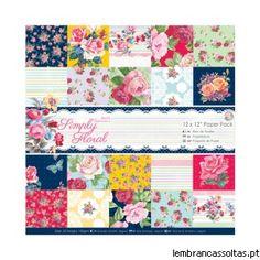 Novidades Papermania - Simply Floral Temos mais novidades para si, a colecção Simply Floral da Papermania é muito bonita. Esperemos que goste e seja uma inspiração para os seus trabalhos.  Veja aqui: http://www.lembrancassoltas.pt/it-index-n-Simply_Floral-cPath-650.html