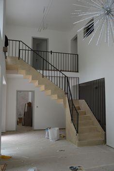 Modern handrail Verona, Stairs, Metal, Modern, Design, Home Decor, Luxury, Stairway, Trendy Tree
