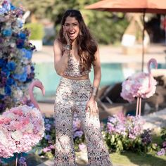 Brides Who Rocked Their Look In Wedding Jumpsuits Summer Wedding Outfits, Bridal Outfits, Wedding Attire, Mehendi Outfits, Indian Outfits, Wedding Looks, Bridal Looks, Wedding Jumpsuits For Brides, Classy Outfits