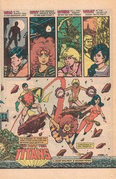 The Original Teen Titans - George Perez