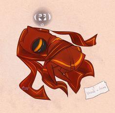 Biovyx's Art Section<--- Sleepy Wayfarer~ Awww lindo~