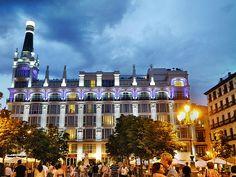 Plaza Santa Ana, Madrid
